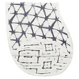 aden + anais® Pebble Shibori Silky Soft Burpy Bip in Grey