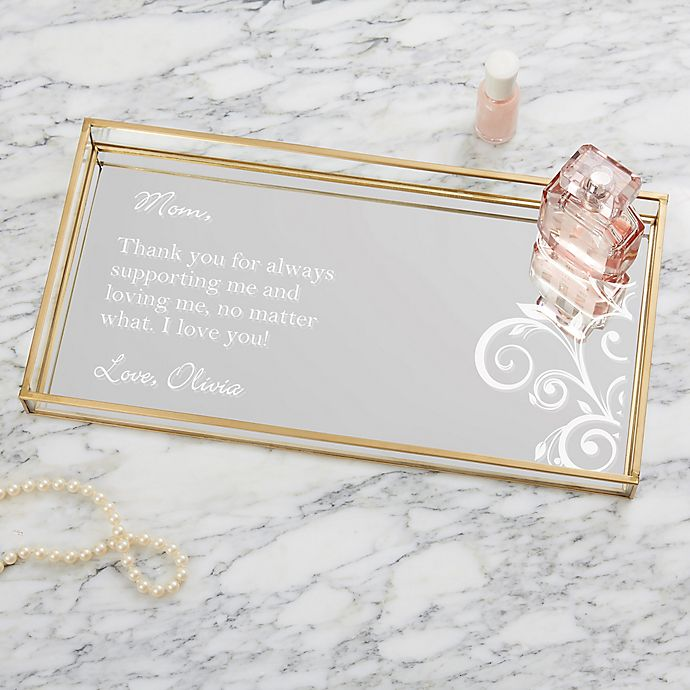 Alternate image 1 for Special Message Personalized Vanity Tray