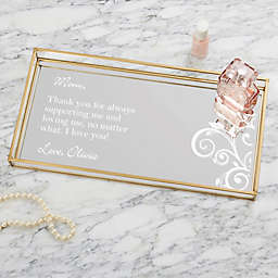Special Message Personalized Vanity Tray