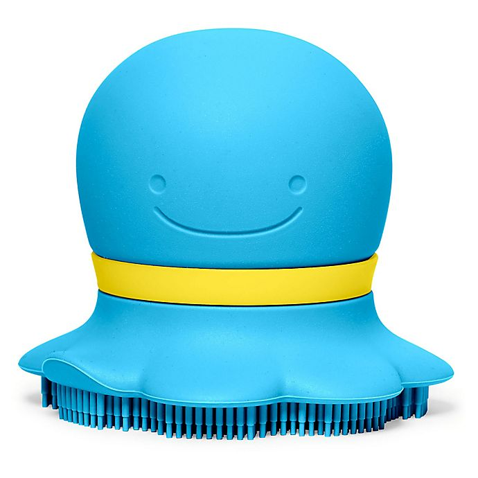 Alternate image 1 for SKIP*HOP® Moby Friends Soap Sudsy Bath Scrubber in Blue