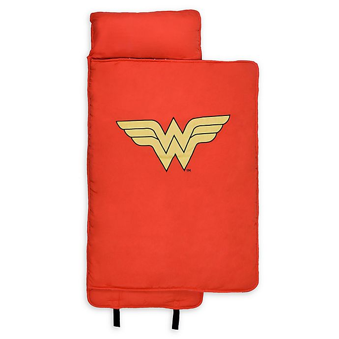 Alternate image 1 for Wildkin Wonder Woman Nap Mat in Red