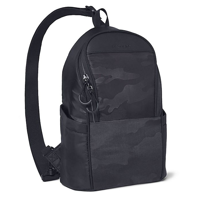 Alternate image 1 for SKIP*HOP® Paxwell Easy-Access Diaper Bag in Black