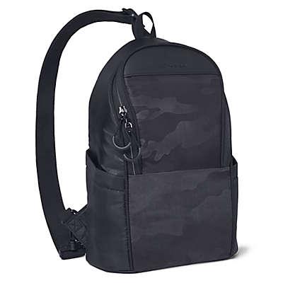 SKIP*HOP® Paxwell Easy-Access Diaper Bag in Black