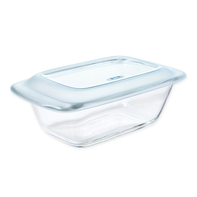 Alternate image 1 for OXO Good Grips® Covered Loaf Dish in Light Blue