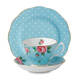 Royal Albert Polka Blue Dinnerware Collection