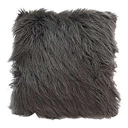 Posh365® Faux Fur Square Throw Pillow