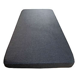 Wildfire Teepees® Marl Fitted Crib Sheet in Charcoal