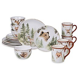 Certified International Mountain Retreat Dinnerware Collection
