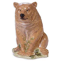 Certified International Mountain Retreat 3-D Bear Cookie Jar
