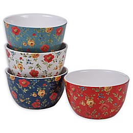 Certified International Country Fresh Ice Cream Bowls (Set of 4)