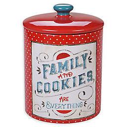 Certified International Country Fresh Biscuit Jar