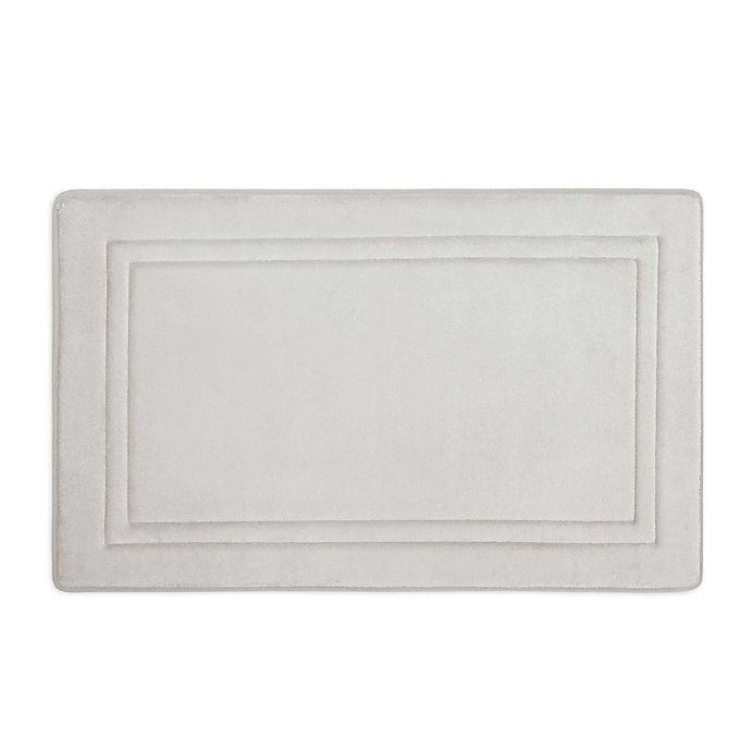 Alternate image 1 for Smart Dry Memory Foam Bath Mat