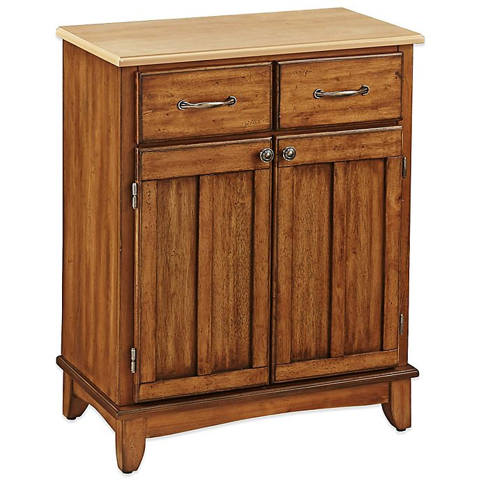 Alternate image 1 for Home Styles Small Buffet/Server with Natural Wood Top