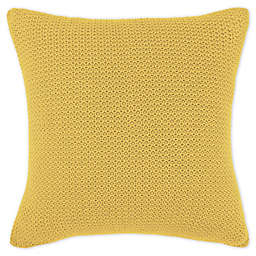 Frette At Home Mimosa Square Throw Pillow
