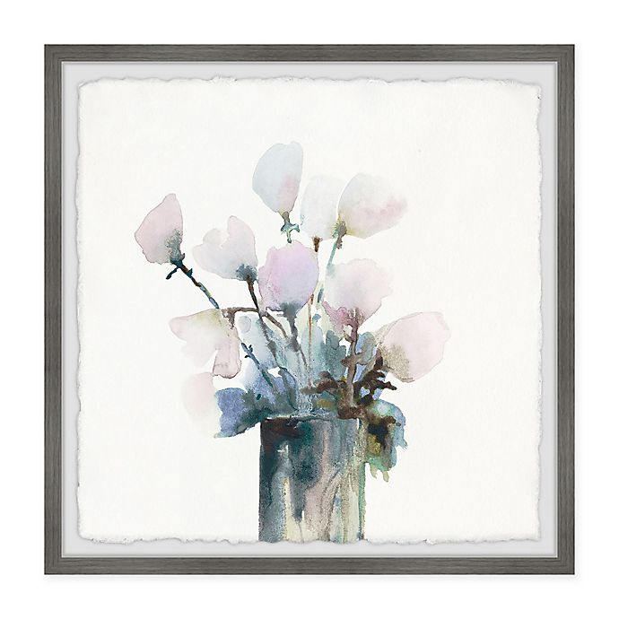 Alternate image 1 for Marmont Hill Fresh Flowers 24-Inch Squared Framed Wall Art
