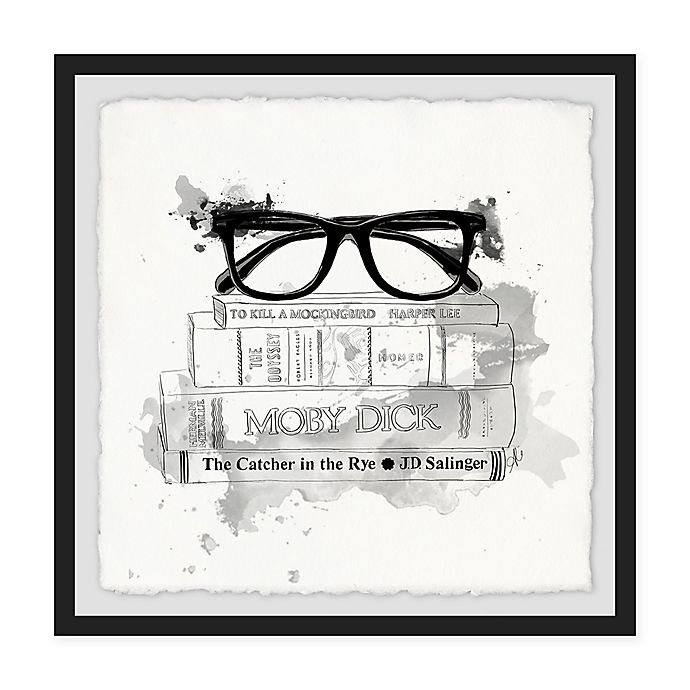 Alternate image 1 for Marmont Hill Library II 12-Inch Squared Framed Wall Art
