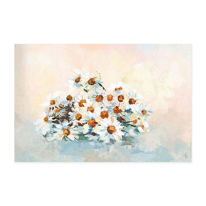 Alternate image 1 for Marmont Hill Bushel of Daisies 30-Inch x 20-Inch Canvas Wall Art
