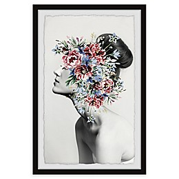 Marmont Hill Floral Thoughts Framed Wall Art