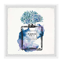 Marmont Hill Floral Blue II Framed Wall Art