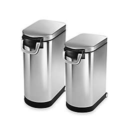 simplehuman® Stainless Steel Pet Food Storage Can