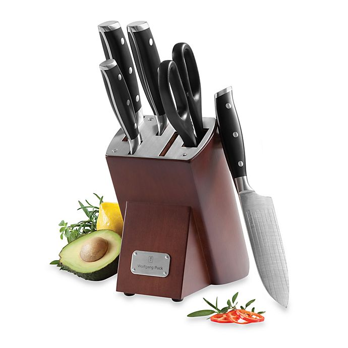wolfgang puck kitchen knives wolfgang puck 6 piece cutlery set bed bath beyond 4004