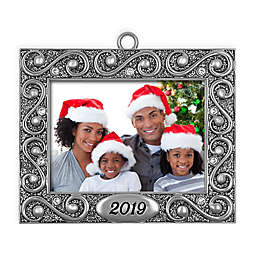 Crystals from Swarovski® Harvey Lewis™ Picture Frame 2019 Christmas Ornament