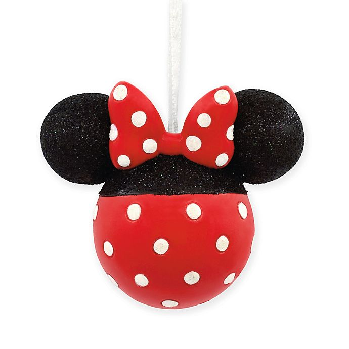 Alternate image 1 for Hallmark® Disney® Minnie Mouse Glitter Ornament