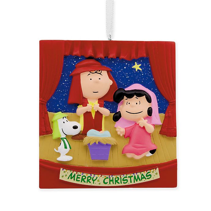 Alternate image 1 for Hallmark® Peanuts® Nativity Scene Ornament