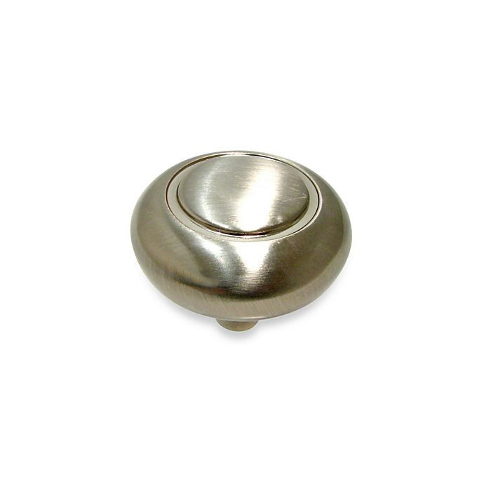 Alternate image 1 for Richelieu Classic Mushroom Knob in Brushed Nickel