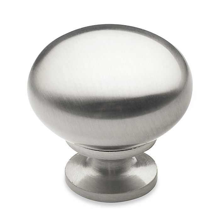 Alternate image 1 for Richelieu 1-1/4-Inch Round Knob in Brushed Nickel