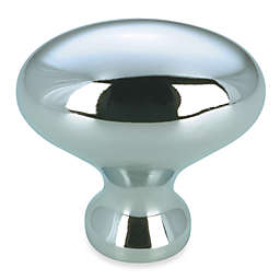 Richelieu Small Oval Knob in Chrome