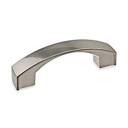 Richelieu 3-Inch Satin Nickel Flat Arch Pull