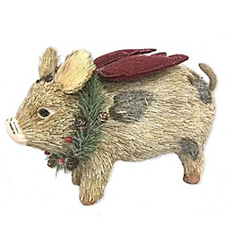 Bee & Willow™ Home Flying Pig Christmas Décor