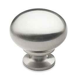 Richelieu 10-Pack Round Knob in Brushed Nickel
