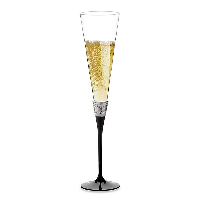 Alternate image 1 for Vera Wang Wedgwood® with Love Noir Toasting Flutes