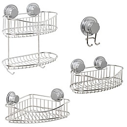 .ORG® NeverRust® Power Grip Pro™ Stainless Steel Shower Storage Collection