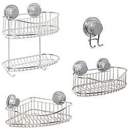 .ORG NeverRust™ Power Grip Pro Stainless Steel Shower Storage Collection