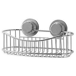 .ORG® NeverRust® Power Grip Pro™ Stainless Steel Shower Caddy