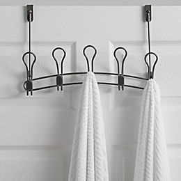 ORG Zenna Over-the-Door Rack Collection in Satin Nickel
