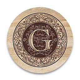 "Monogram Letter ""G"" Coasters (Set of 4)"