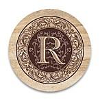 Monogram Letter  R  Coasters (Set of 4)