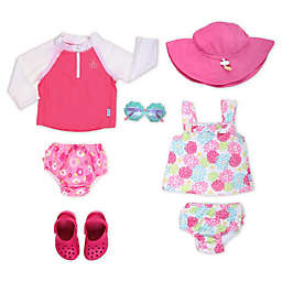 Girl's Pool Essentials in Pink Style Collection
