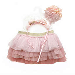 Toby Signature™ Infant 3-Piece Floral Ruffle Tutu Set in Pink