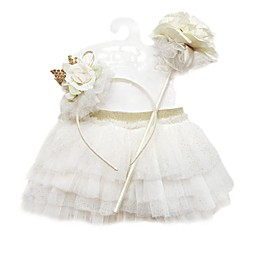 Toby™ Newborn 3-Piece Crown Headband, Tutu, and Wand Set