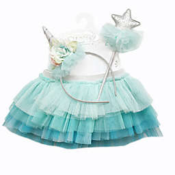 Toby Signature™ Infant 3-Piece Under the Sea Unicorn Tutu Set in Blue