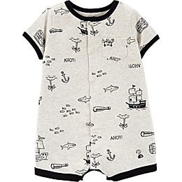 carter's® Pirate Crab Romper in White
