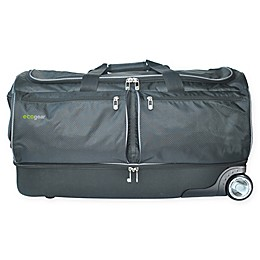 Ecogear® Wheeled Duffle Bag in Black