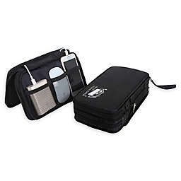 Travel Fusion™ Electronics Travel Organizer in Black/Grey