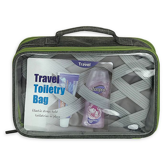 Alternate image 1 for Travel Fusion™ Large Toiletry Organizer in Grey