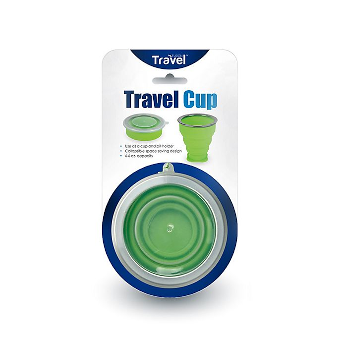 Alternate image 1 for Travel Fusion™ Silicone Travel Cup